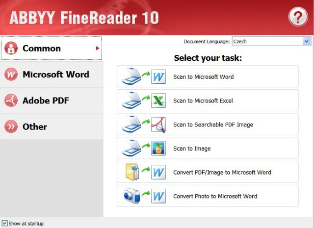 ABBYY FineReader Corporate Edition 10.0.102.130 Lite. Фотошоп на русском я